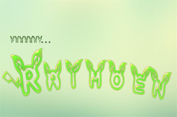 raimoen font by nafkah