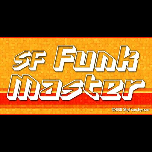 Image for SF Funk Master font
