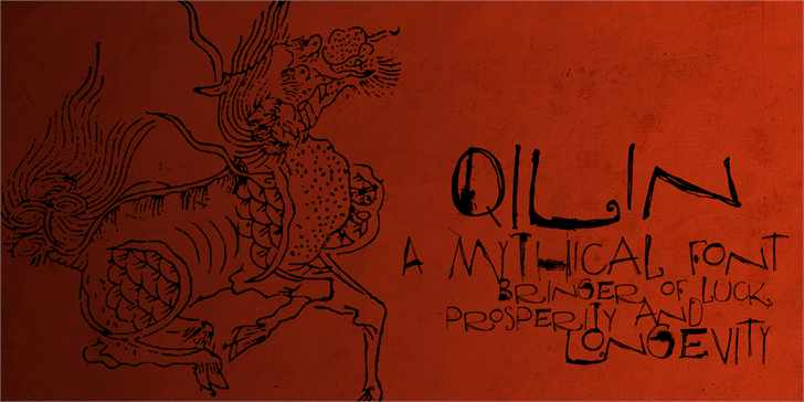 Image for DK Qilin font