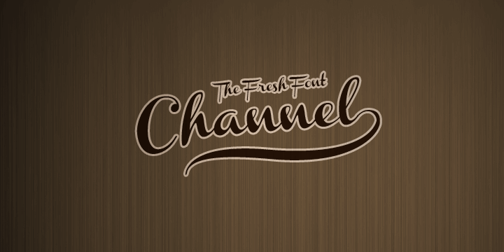 Image for Channel font