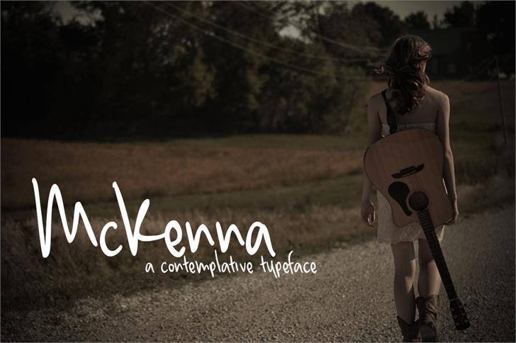 Image for McKenna font