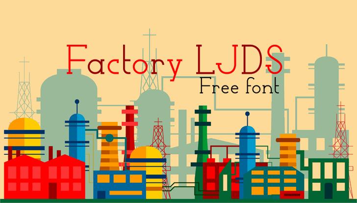 Image for Factory LJDS font