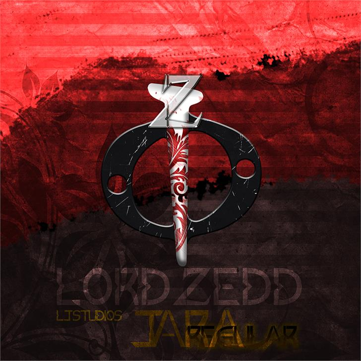 Image for Lord ZeDD Release - LJ Studios font