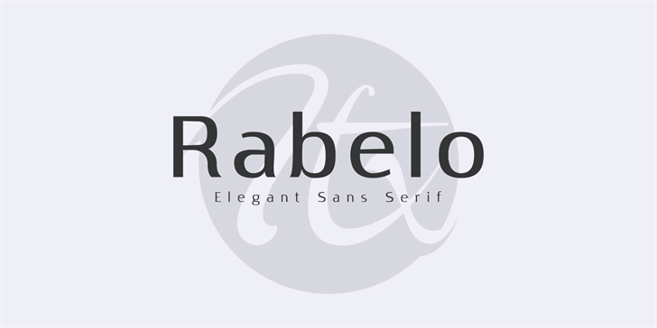 Image for Rabelo font
