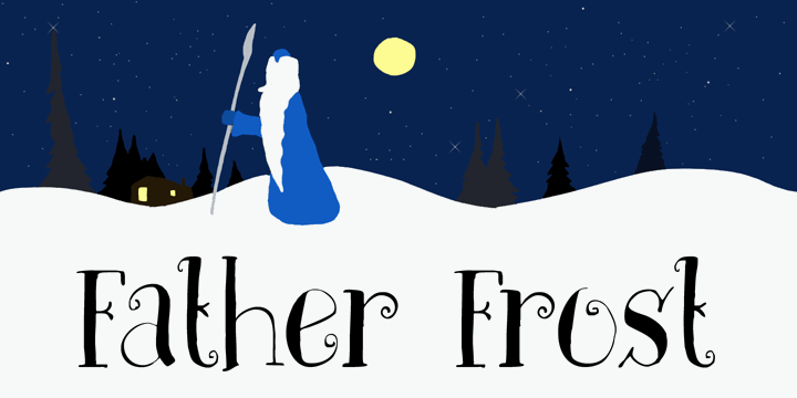 Image for DK Father Frost font