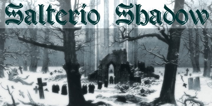 Image for Salterio Shadow font
