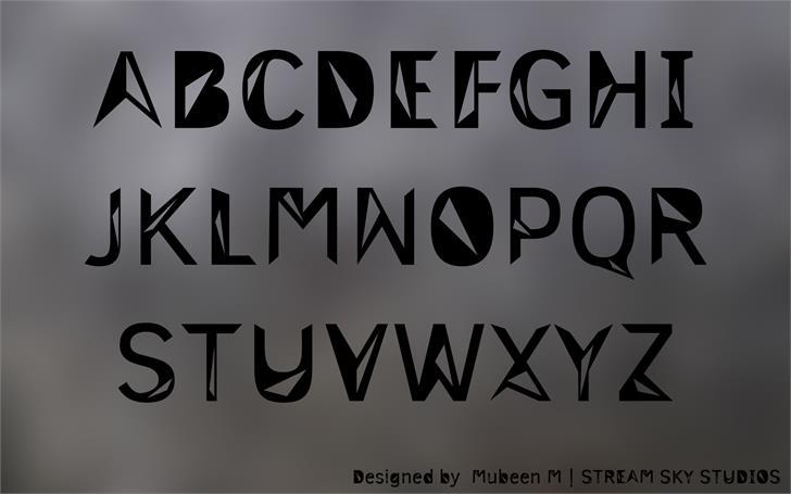 Image for 3M Trislan font