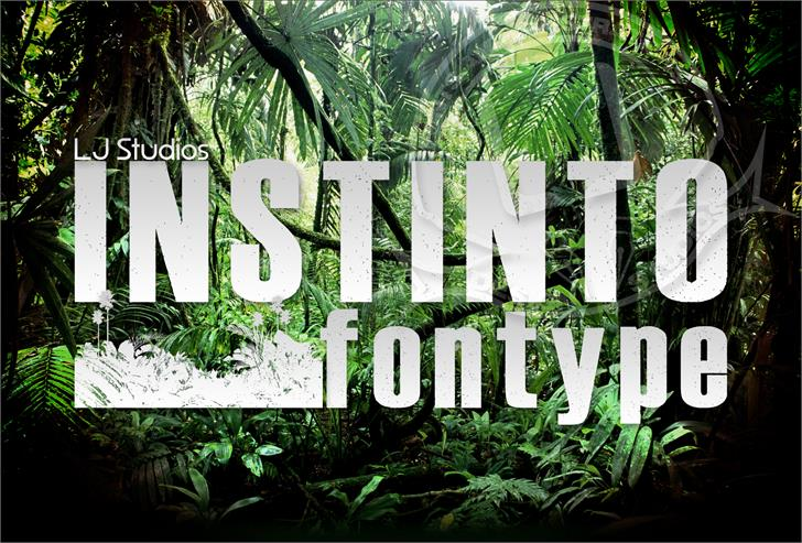 Image for Instinto font