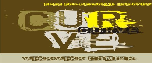 Image for VTKS CURVE font