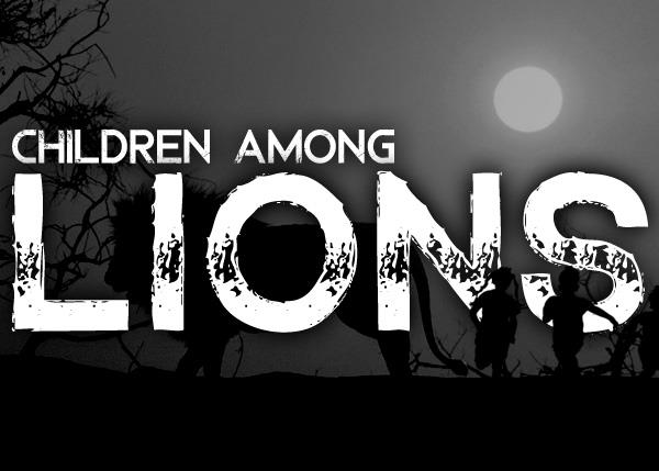 Image for Children Among Lions font