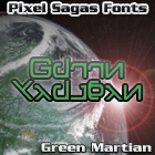 Image for Green Martian font