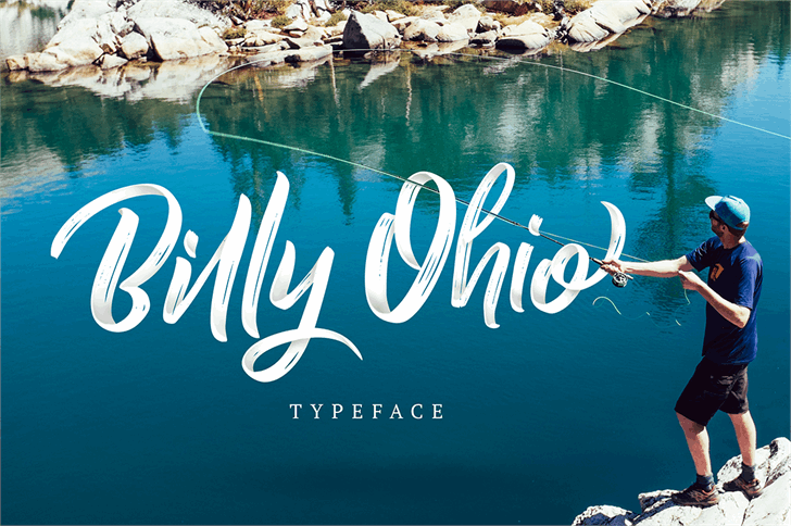 Image for Billy Ohio font