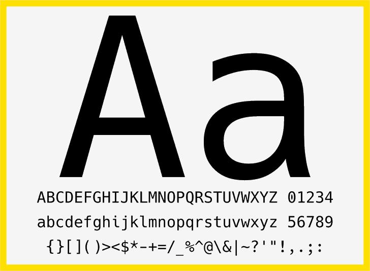 Image for Hack font