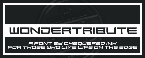 Image for Wondertribute font