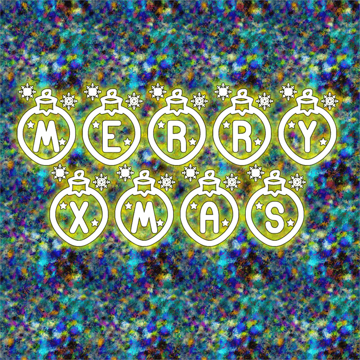 Image for Merry Xmas St font