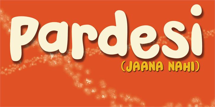 DK Pardesi font by David Kerkhoff