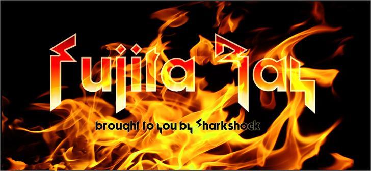 Fujita Ray font by sharkshock