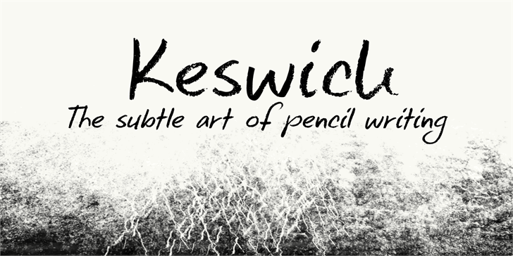 Image for DK Keswick font