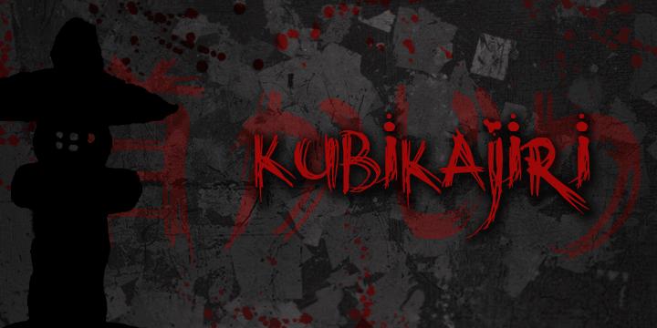 Image for DK Kubikajiri font