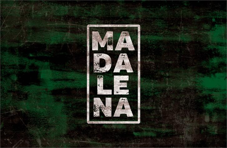 Vtks Madalena font by VTKS DESIGN