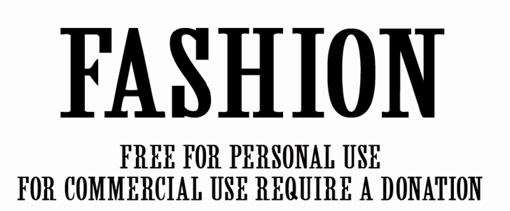 Image for CF Fashion font