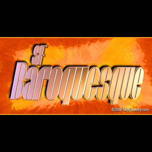 Image for SF Baroquesque font