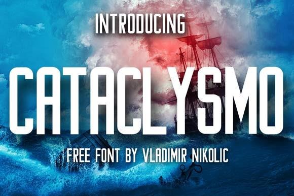 Image for Cataclysmo font