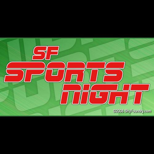 Image for SF Sports Night font