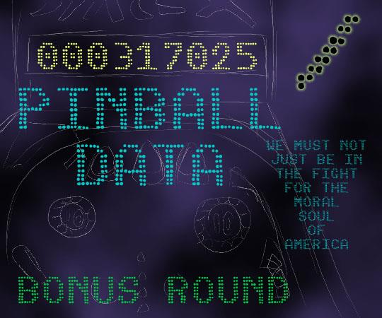 Image for Pinball Data font