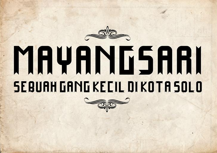 Image for Mayangsari font