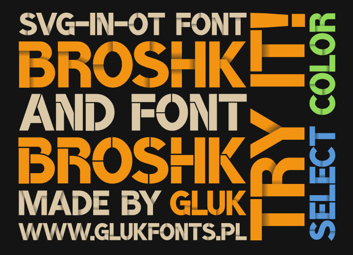 Image for BroshK font