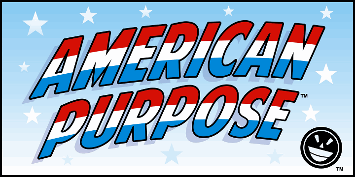 american purpose font by the fontry fontspace
