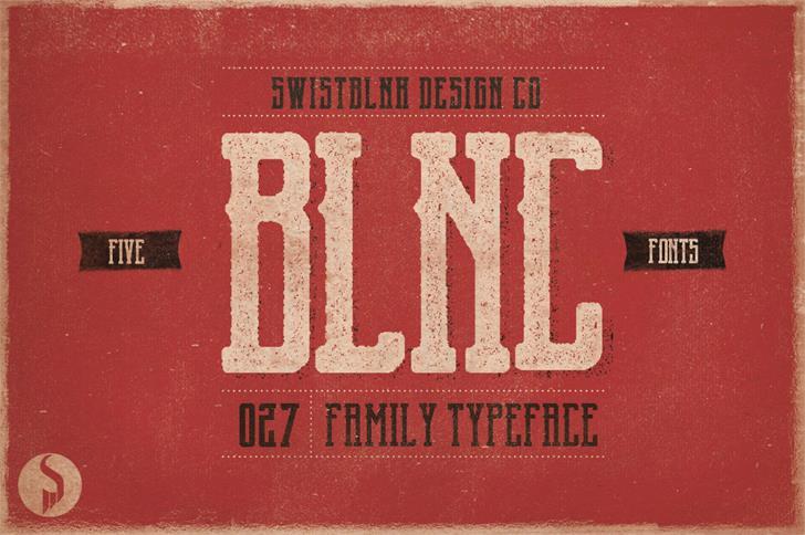 Image for Garado Blnco font