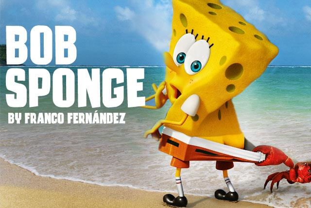 Image for Bob Sponge font