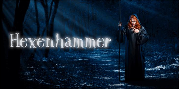 Image for DK Hexenhammer font