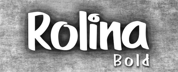 Image for RolinaBold font