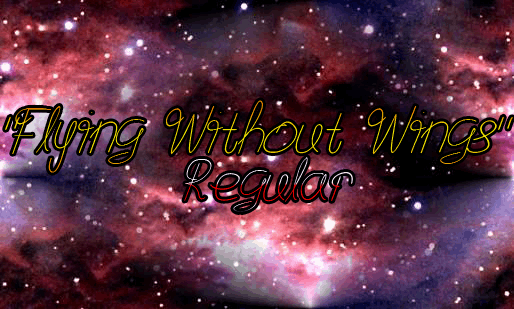 Image for Flying Without Wings font