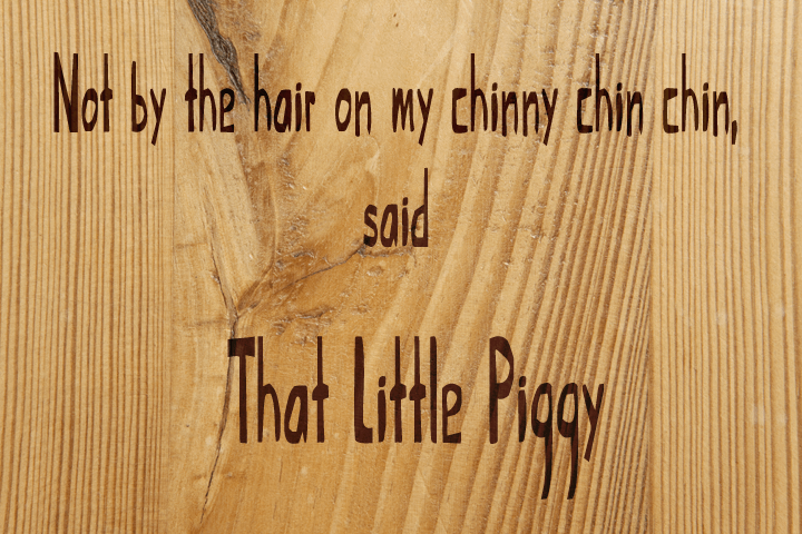 Image for That Little Piggy font
