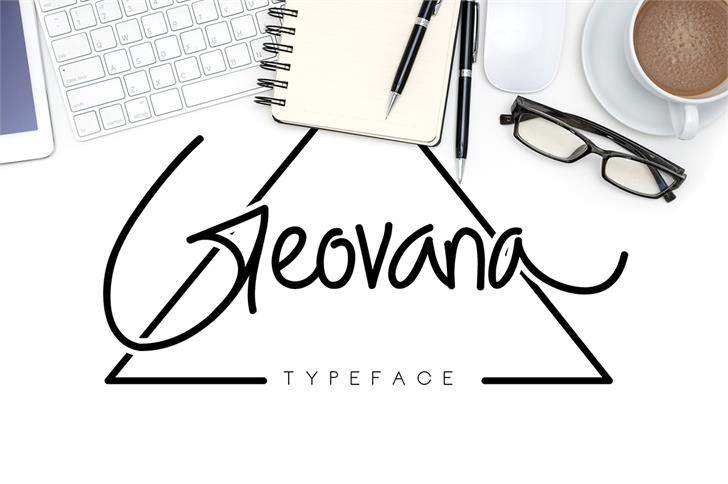 Image for Geovana font