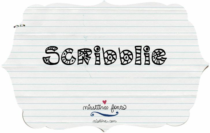 Image for MTF Scribblie font