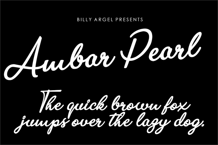 Image for Ambar Pearl Personal Use font