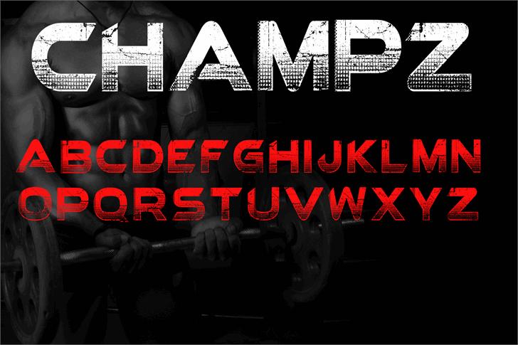 Champz DEMO font by knackpackstudio