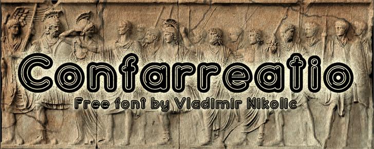 Image for Confarreatio font