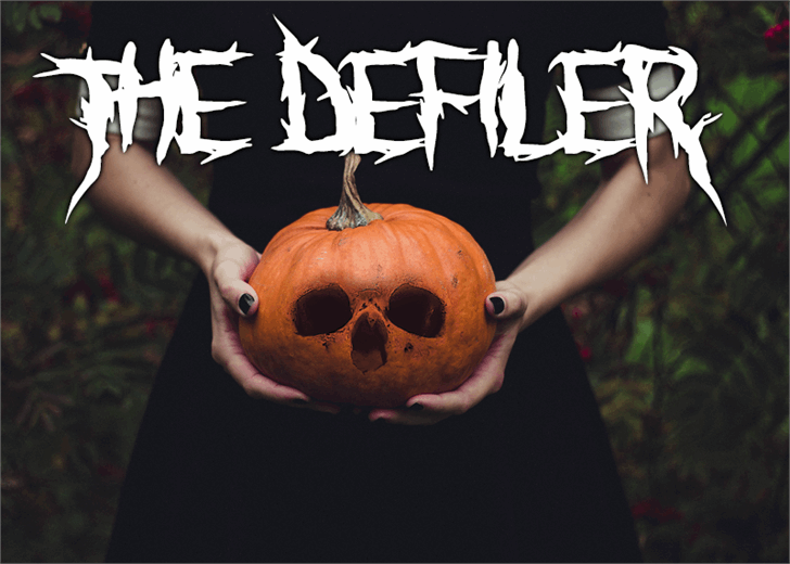 Image for The Defiler font