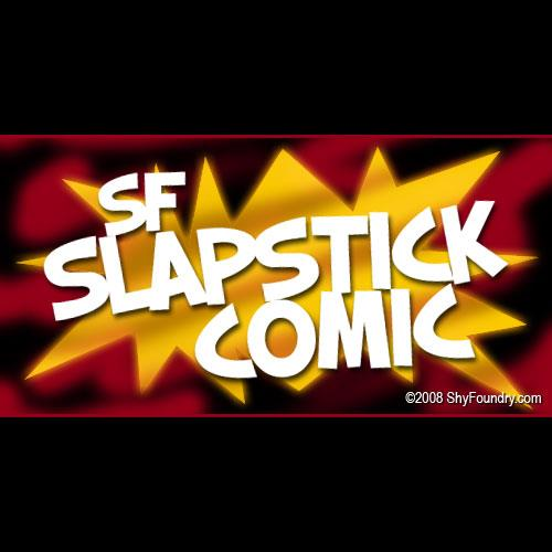 Image for SF Slapstick Comic font