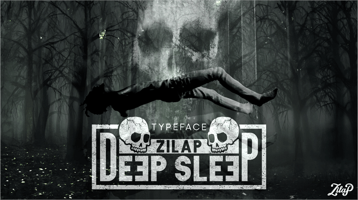 Zilap Sleep font by ZILAP ESTUDIO - ZP
