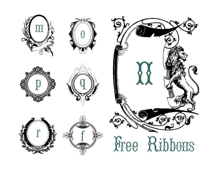 Image for FreeRibbons font