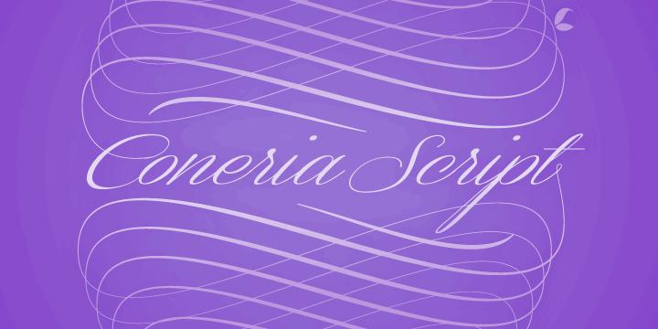 Image for Coneria Script Demo font