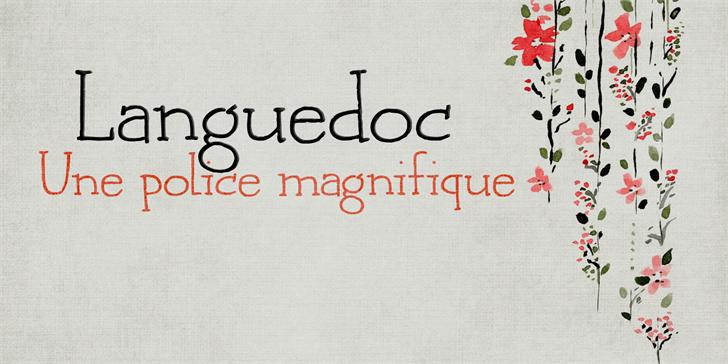 Image for DK Languedoc font