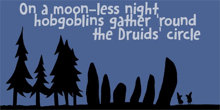 Image for DK Hobgoblin font